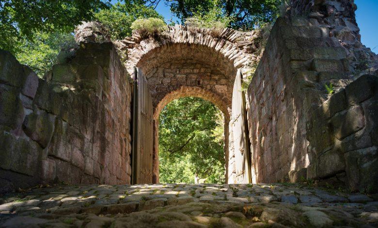 древни зидове от римско време