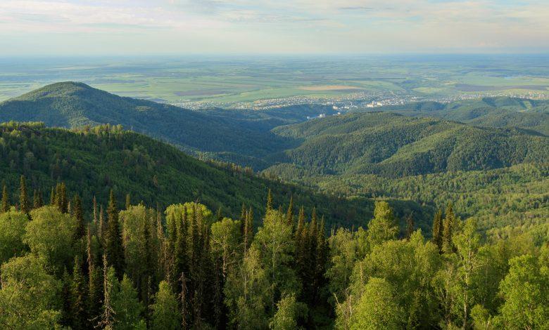 Планински изглед