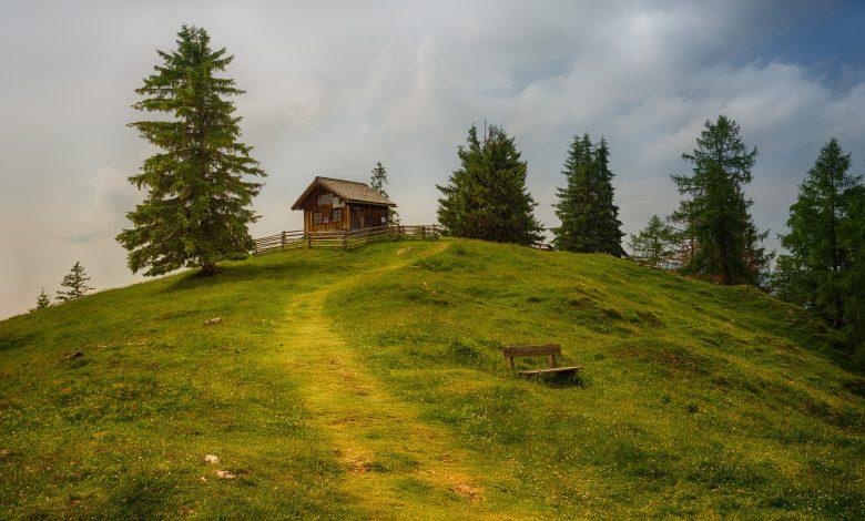 малка планинска хижа
